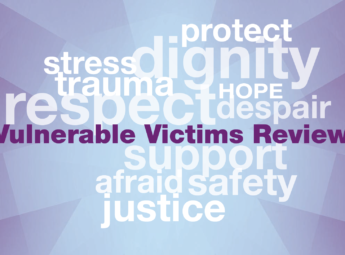 Deputy PCC publishes review of vulnerable victims services