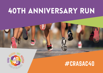 JOIN US FOR OUR 40TH ANNIVERSARY FUNDRAISING RUN